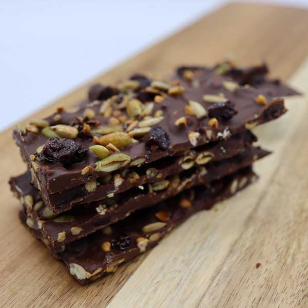 Seed Sister Recipe Dark Chocolate Bark